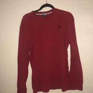 Red Jordan thermal